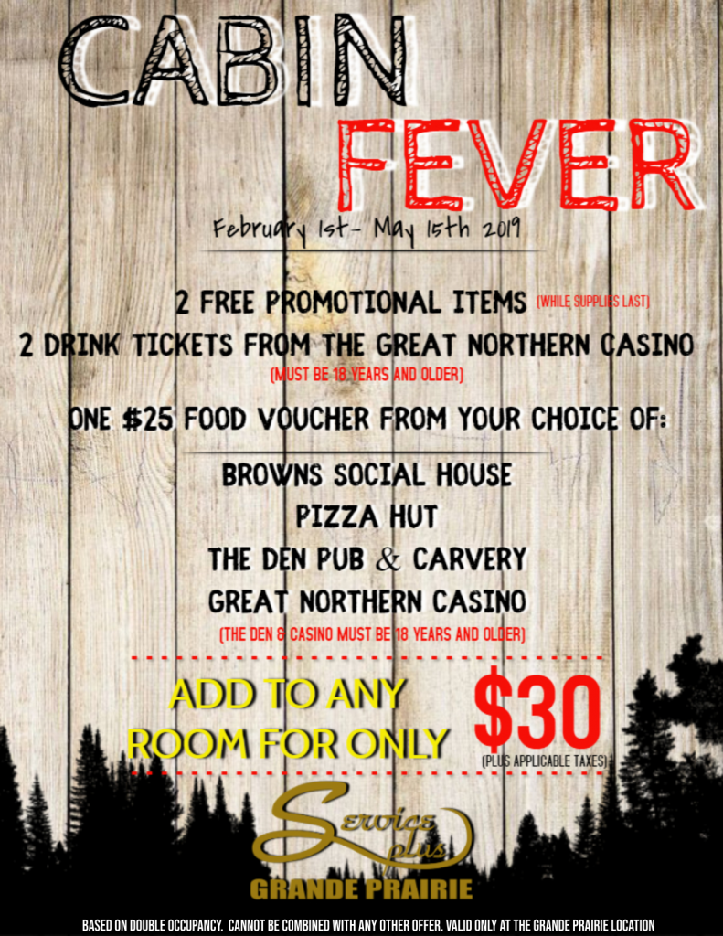 Cabin Fever Flyer 2019