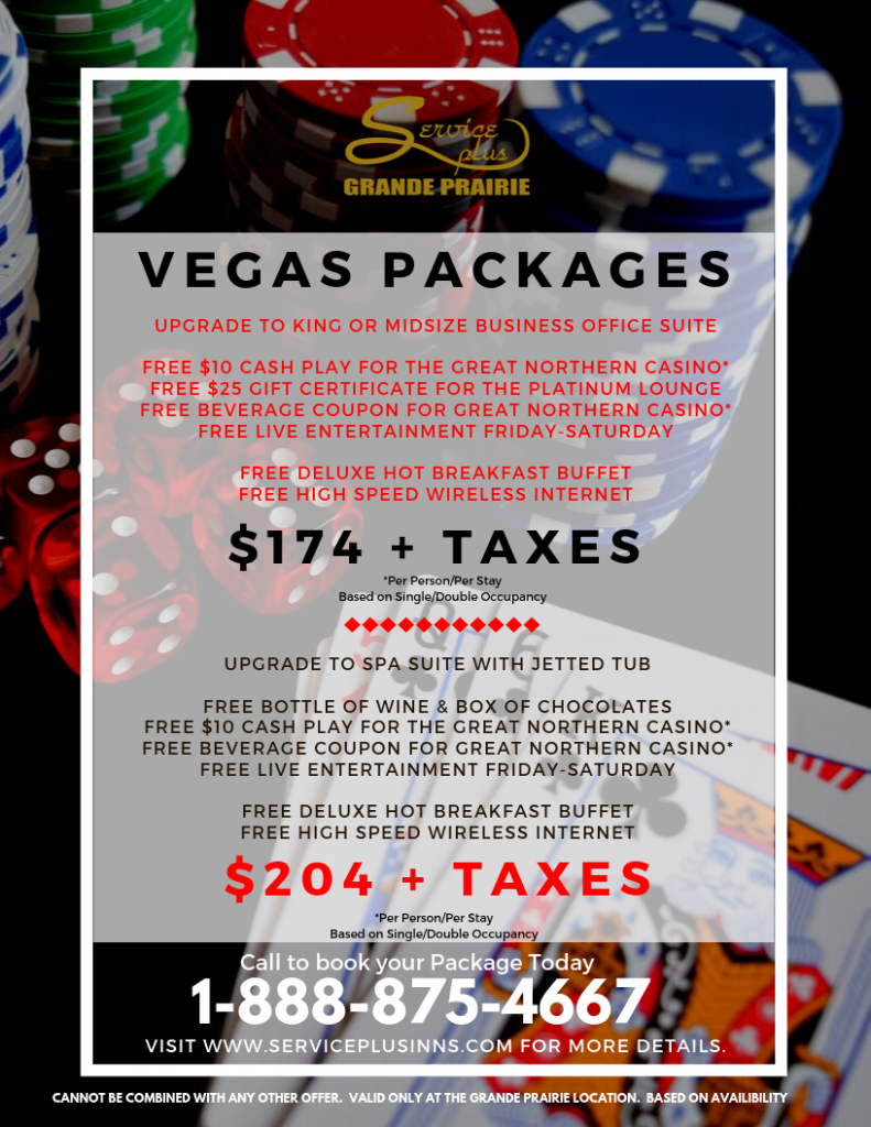 Vegas Packages Flyer