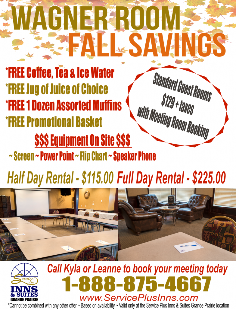 Wagner Room Fall Savings 2017