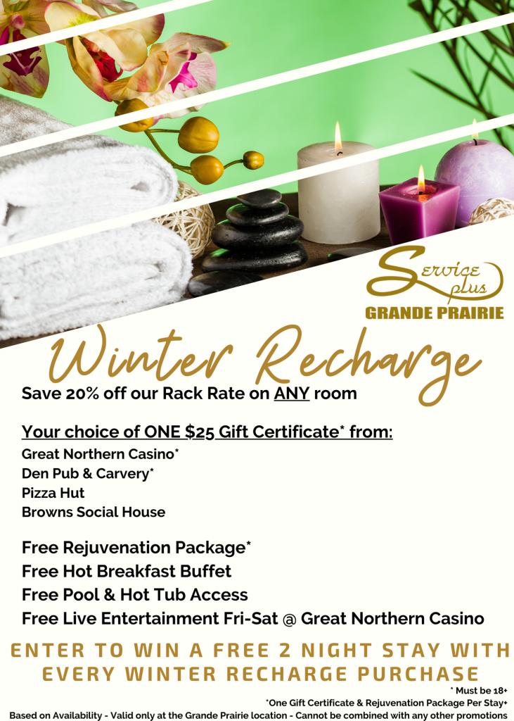 Winter Recharge Flyer